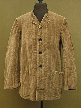 cir.1930's -1950's brown cord jacket