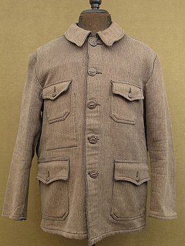 cir.1940-1950's pique hunting jacket