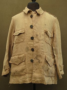 cir.1930-1940's linen hunting jacket