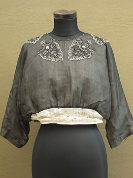 early 20th c. spangle blouse