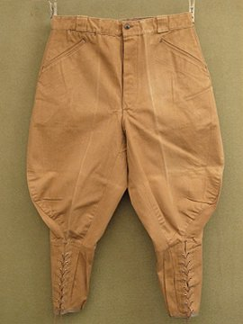 cir.1940-1950's cotton canvas jodhpurs