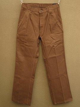 mid 20th c. dead stock work trousers
