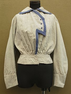 cir.1910's gray bodice