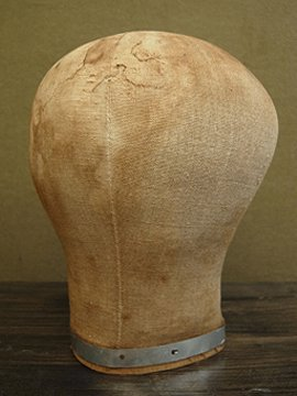 early - mid 20th c. head mannequin