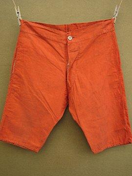 cir.1930's-1940's red shorts
