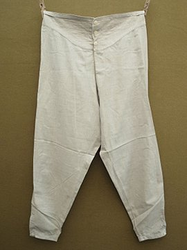 early 20th c. gray underpants