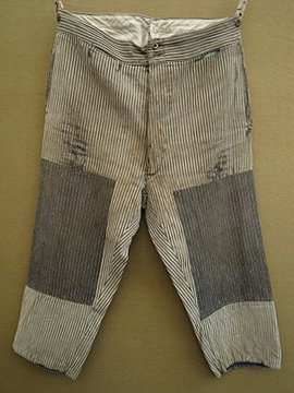 cir.1940's patched work trousers