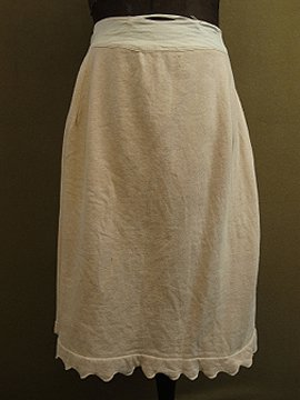 early 20th c. beige skirt