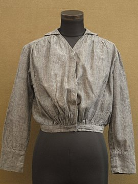 1910's-1920's striped blouse