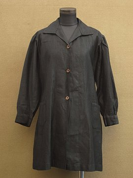 1930-1940's black work coat
