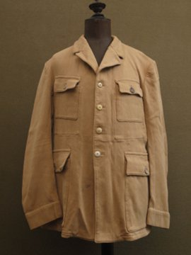 cir. 1930-1940's cotton pique jacket