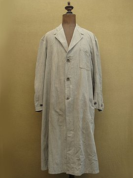 cir.1930's-1940's patched gray coat