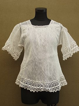 early 20th c. choirboy lace top