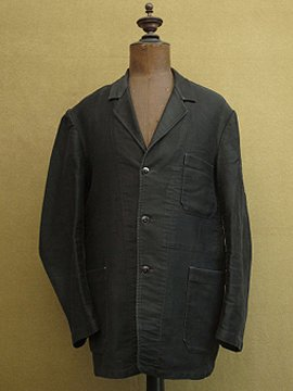 cir.1950's black moleskin jacket
