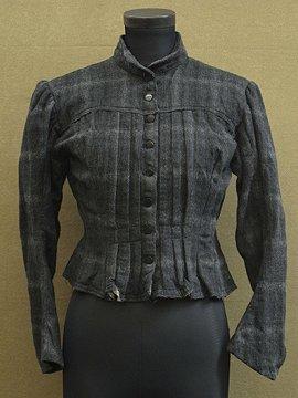 1900's wool bodice