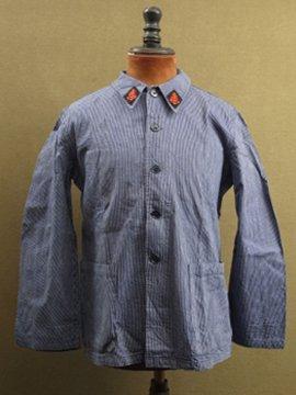 1960-70's striped porter jacket CGT