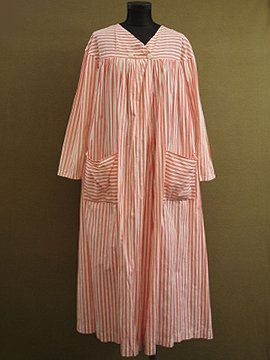 1930-1940's pink striped coat