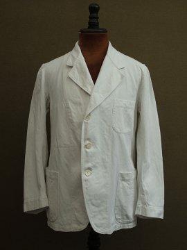 cir.1930-1940's white cotton jacket