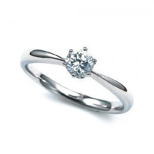 quality design c7b8e 2973a 婚約指輪02A-0194 プラチナ900 優しいイメージのティファニータイプ - 結婚指輪・婚約指輪の沖縄ミンサー柄結婚指輪「むすび」