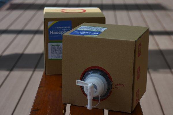 強力な除菌&除ウイルス!「ハセッパー水」次亜塩素酸水5kg