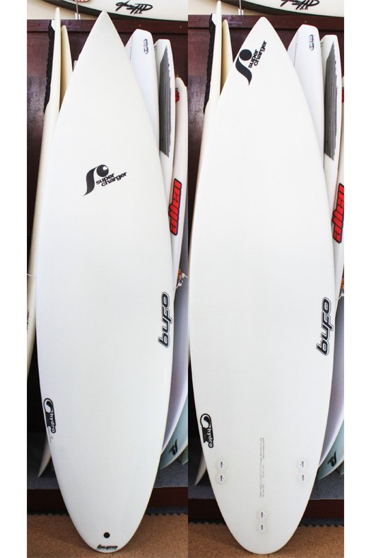 """Bufo Travellers Complex 6'1""""-18 9/16""""-2 3/16"""" Hydro Flex Super Charger"""