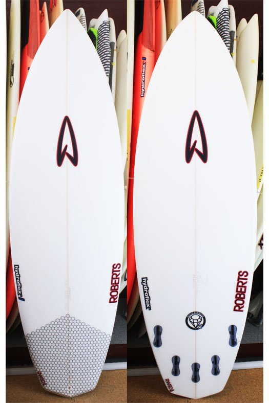 "Roberts White Diamond Ⅱ Plus 5'10""-20 3/8""-2 9/16"" Hydro Flex HD EPS(高密度EPSフォーム×3Dグラ"