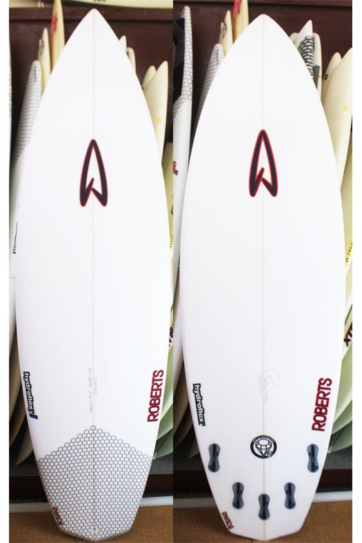 "Roberts White Diamond Ⅱ Plus 6'1""-20 3/4""-2 3/4"" Hydro Flex HD EPS(高密度EPSフォーム×3Dグラッシ"