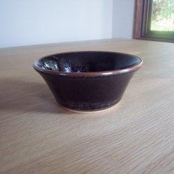 出西窯 小鉢 黒