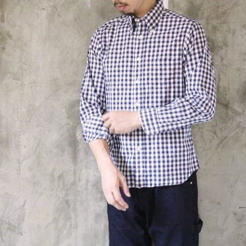 INDIVIDUALIZED SHIRTS BIG GINGHAM CHECK B.D Standard fit