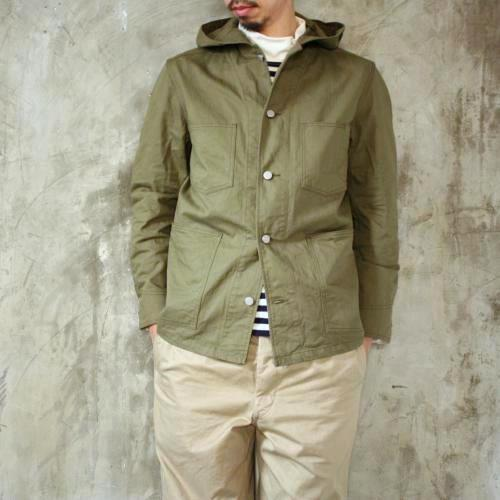 Ordinary fits POSTERMAN COVERALL HERRINGBONE