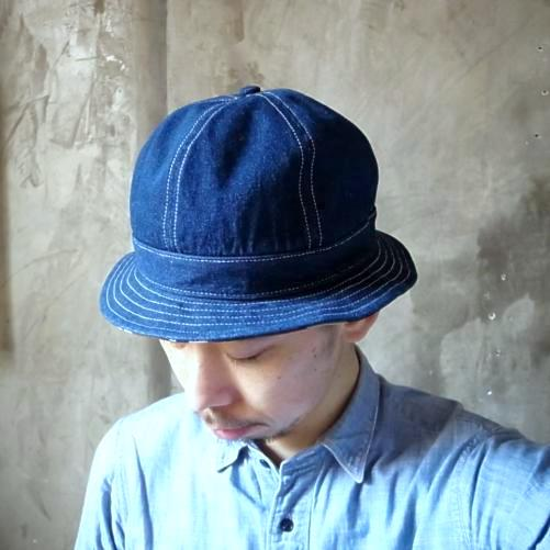 Tapir別注 COOCHUCAMP Happy Metro Hat DENIM
