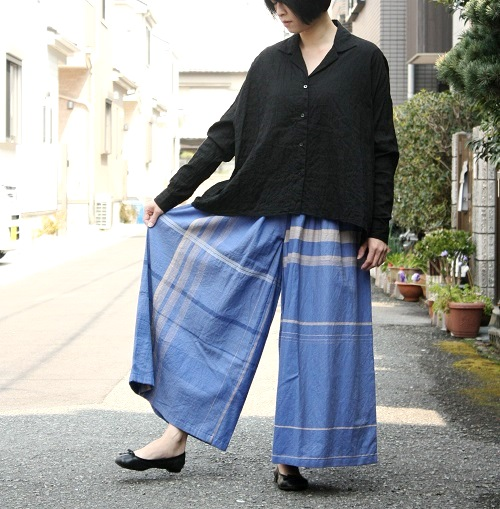 tamaki niime 玉木新雌 only one super wide pants (long)