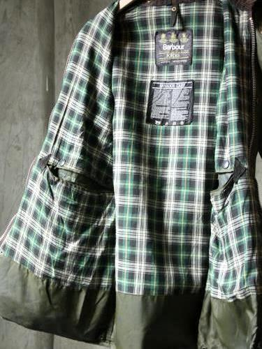 Yoused Barbour リメイクジャケット SAGE