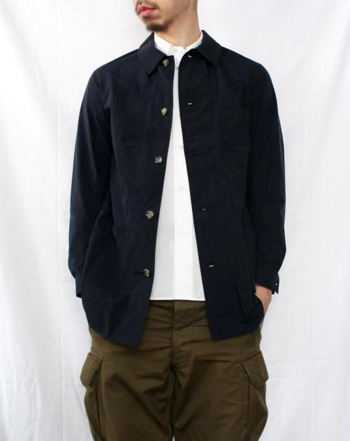 COOCHUCAMP Happy Shirt Coat NAVY