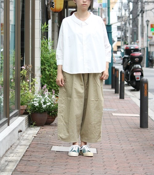 Ordinary fits BALL PANTS BEIGE