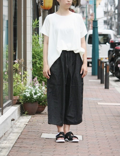 Ordinary fits BALL PANTS denim BLACK