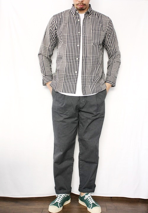 Ordinary fits ワークパンツ BROWN PANTS