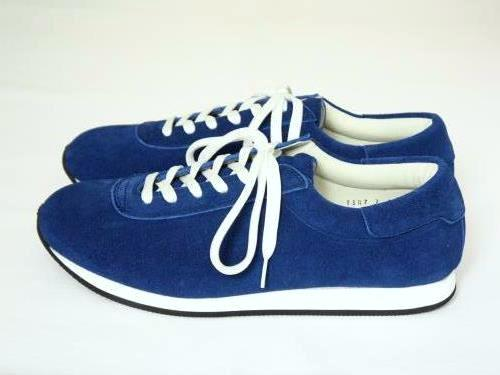 blueover mikey スウェードスニーカー NAVY BLUE