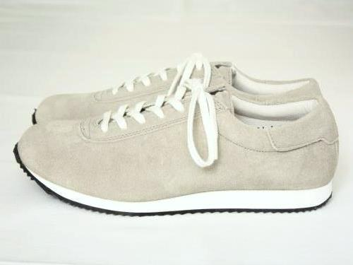 blueover mikey スウェードスニーカー TAUPE