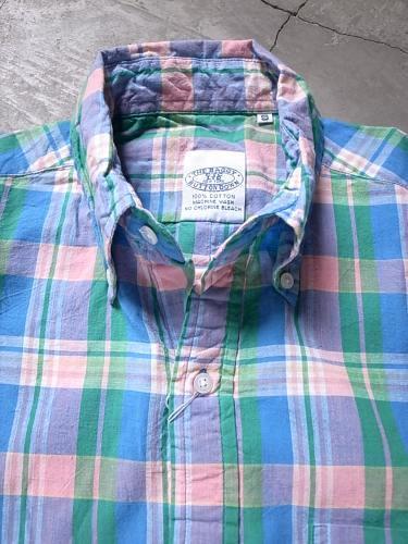 《50% OFF》 THE BAGGY マドラスチェックシャツ mens