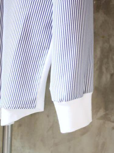 《50% OFF》 SUNNY SPORTS Combo LS Pocket Crew blue stripe mens