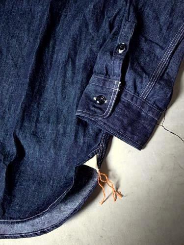 《30% OFF》 SUNNY SPORTS デニムワークシャツ mens