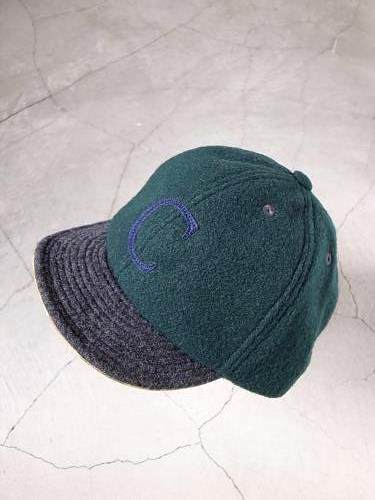 《30% OFF》 COOCHUCAMP Happy Cap wool green unisex