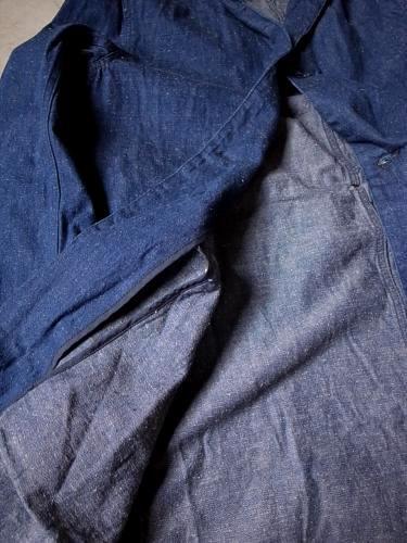 【Tapir別注】 Ordinary fits デニムドクターコート unisex
