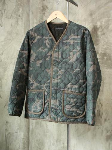 《50% OFF》 COOCHUCAMP Happy Quilting Jacket camo unisex