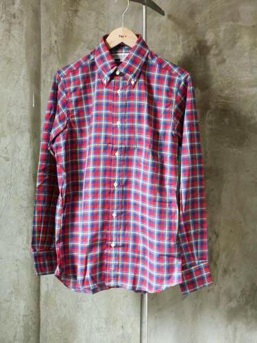 INDIVIDUALIZED SHIRTS 1911 CHECK B.D Standard fit mens