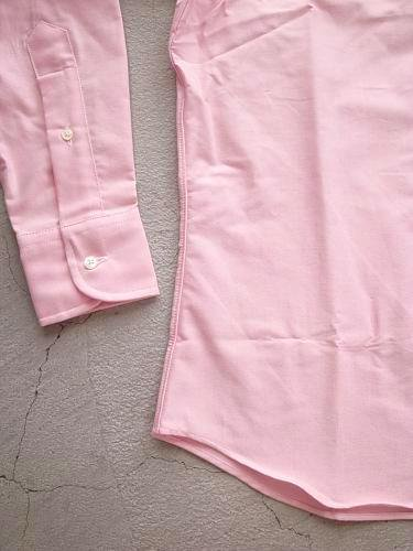 INDIVIDUALIZED SHIRTS Cambridge Oxford B.D Standard fit PINK mens