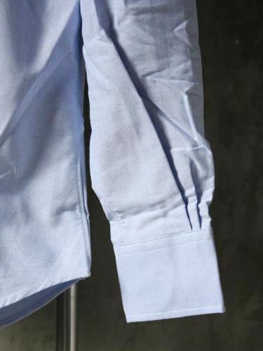 INDIVIDUALIZED SHIRTS Cambridge Oxford B.D Standard fit BLUE mens