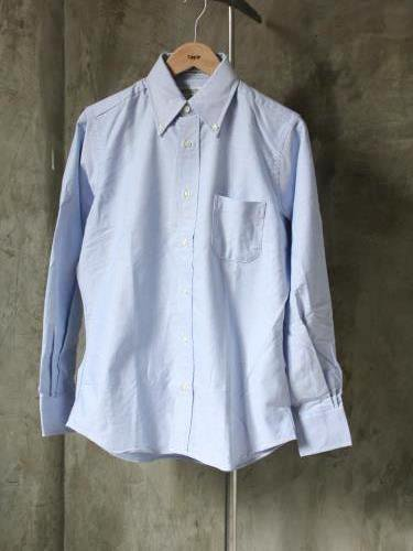INDIVIDUALIZED SHIRTS Cambridge Oxford B.D Standard fit BLUE mens