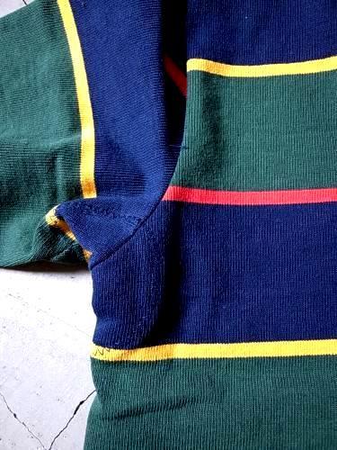 BARBARIAN ラガーシャツ mens